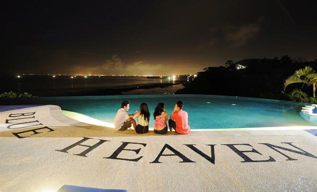 Blue Heaven Beach Club terbaik di bali